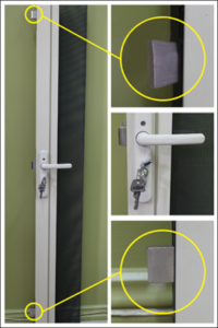 triple locking system